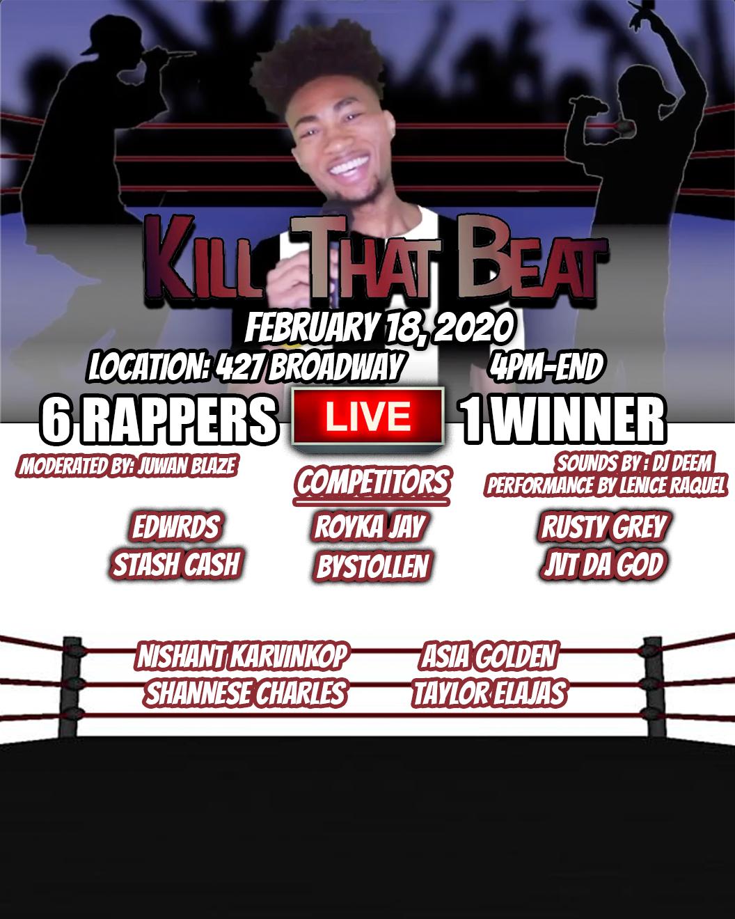 Kill that Beat LIVE!