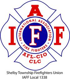Shelby Township Firefighters IAFF Local 1338 logo