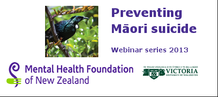 Preventing Māori Suicide: What do we need to do?