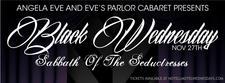 Angela Eve and Eve's Parlor Cabaret logo