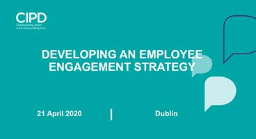 Developing an employee engagement strategy - Postponed