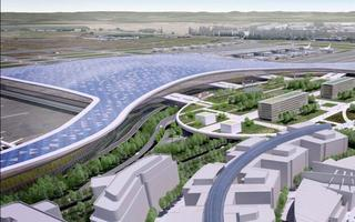 Charles de Gaulle Airport : Terminal 4 Development...