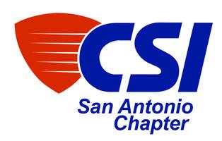 CSI San Antonio Chapter Meeting- Tuesday, November 21st