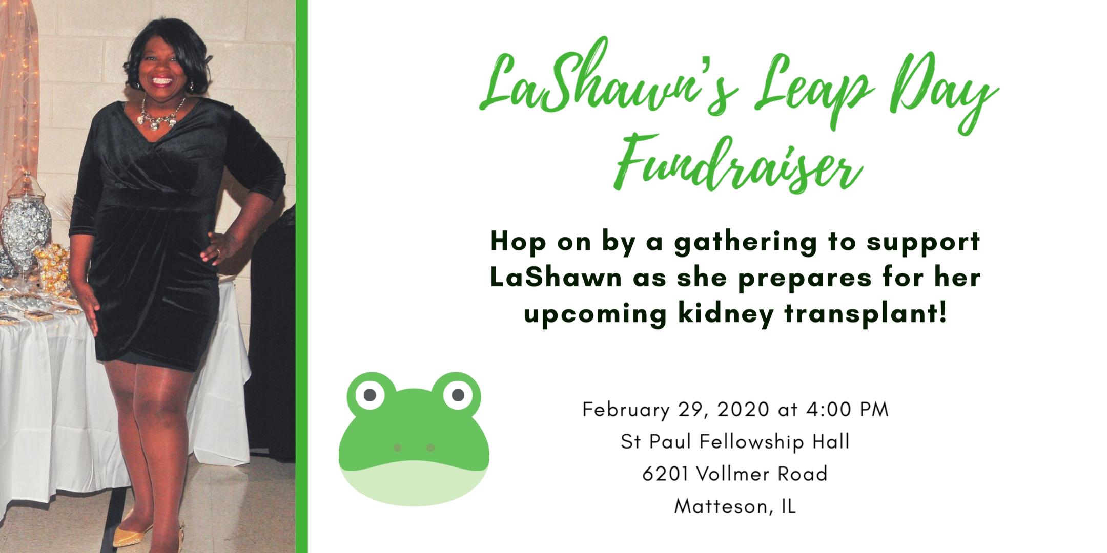 LaShawn's Leap Day Fundraiser