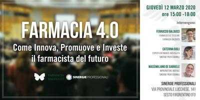 Farmacia 4.0 – Come Innova, Promuove e Investe il...