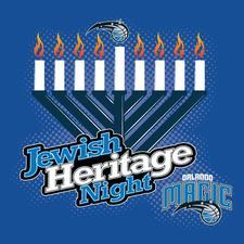 Jewish Heritage Night Orlando logo