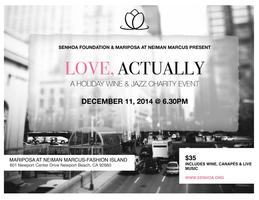 LOVE, ACTUALLY: A HOLIDAY WINE & JAZZ CHARITY EVENT