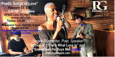 """A Jazzy Sunday Afternoon, """"Poetic Songs of Love"""""""