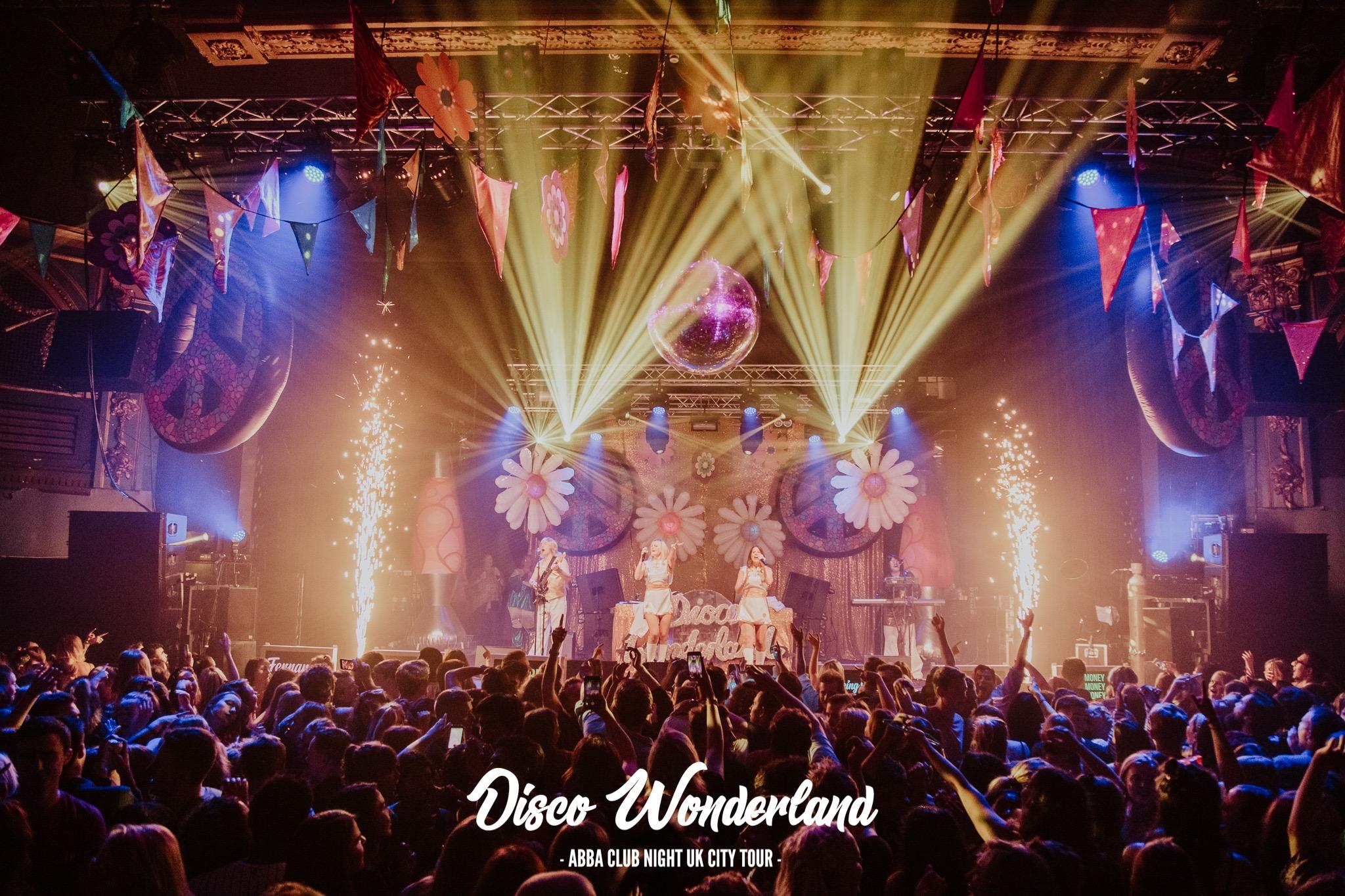 Abba Disco Wonderland UK Tour IS BACK AT Q CLUB!
