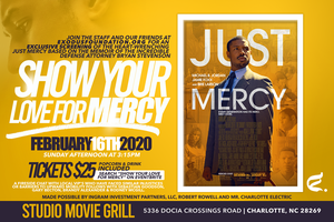 SHOW YOUR LOVE FOR MERCY - Watch Just Mercy With...