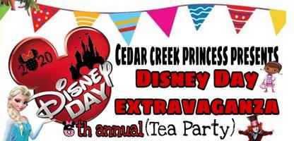 6th annual Disney Day Extravaganza (Tea Party)