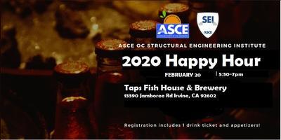 ASCE OC SEI - February Happy Hour