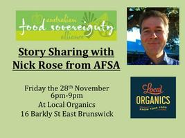 Story Sharing with Nick Rose from AFSA and Local Organi...