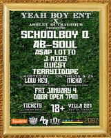 Yeah Boy Ent. x Ashley Outrageous Present: Schoolboy Q...
