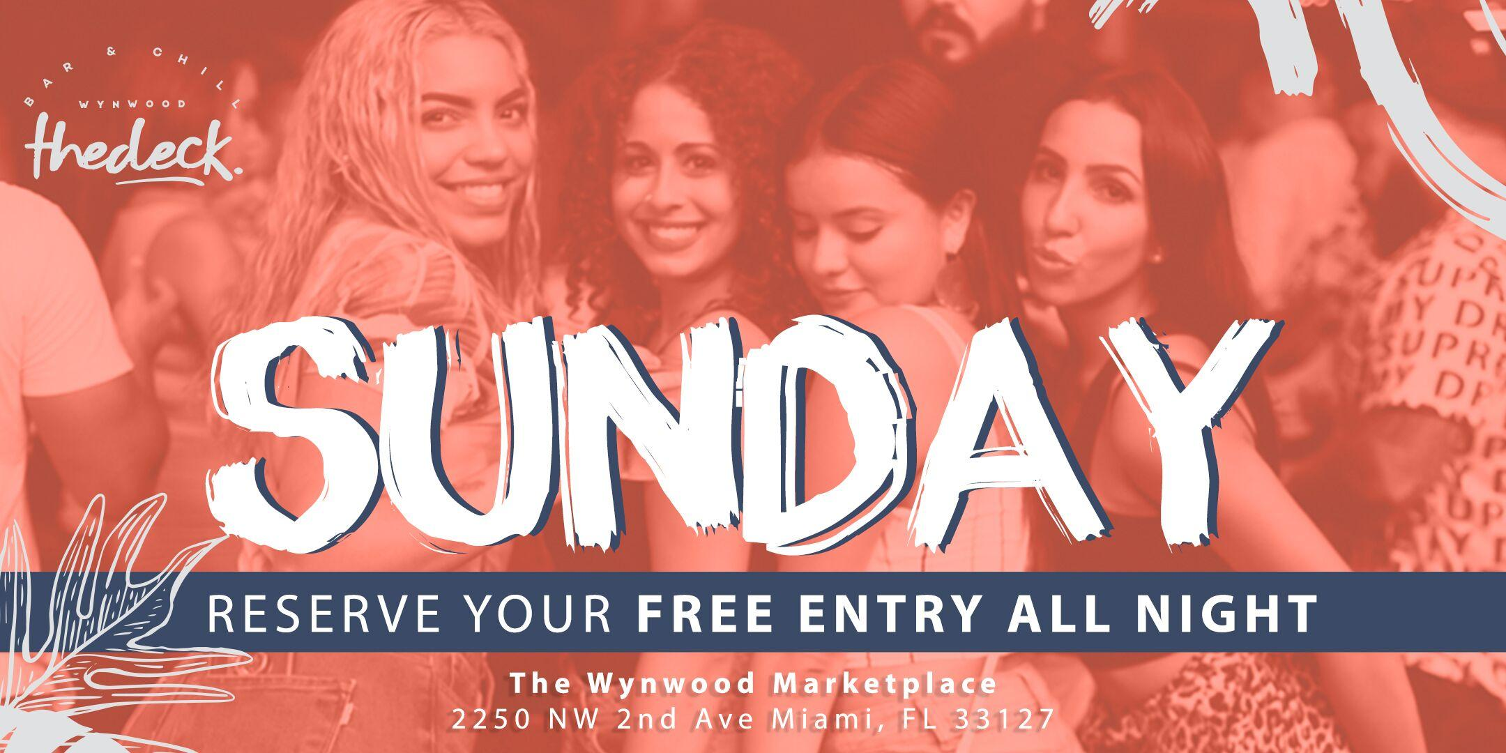 Sundays at thedeck in The Wynwood Marketplace