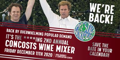 Save The Date: The Second Annual Concosts Wine Mixer