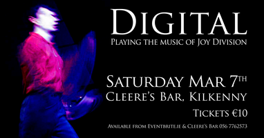 Digital - playing the music of Joy Division @...