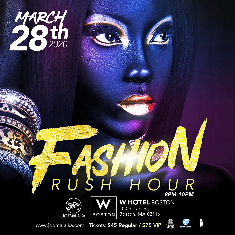 Fashion Rush Hour by Joe Malaika