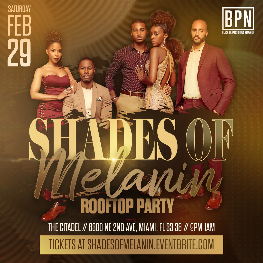 Shades Of Melanin Rooftop Party 29 Feb 2020