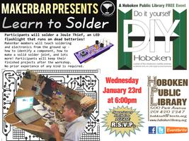 Soldering Your Own LED Flashlight with Hoboken's...