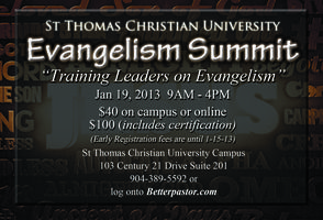 Evangelism institution Summit 2013