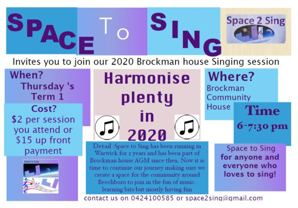 Space to Sing