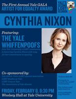Artist for Equality Award-Cynthia Nixon-POSPTONED-WATCH FOR...