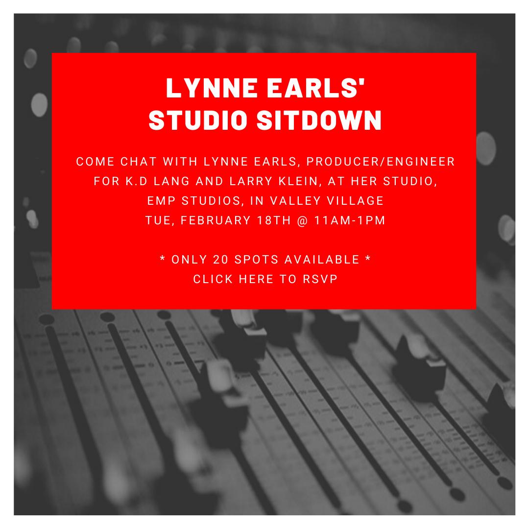 Lynne Earls' Studio Sitdown