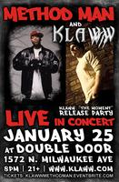 "Klaww w/ Method Man - Klaww's ""The Moment"" Mixtape Release..."