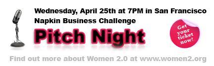 Women 2.0 Pitch Night