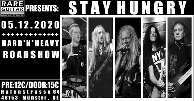Stay Hungry - Hard'N'Heavy Roadshow