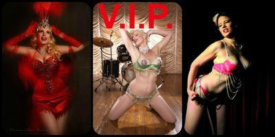 Shhhh--- it's Burlesque - Halloween Show V.I.P. Ticket