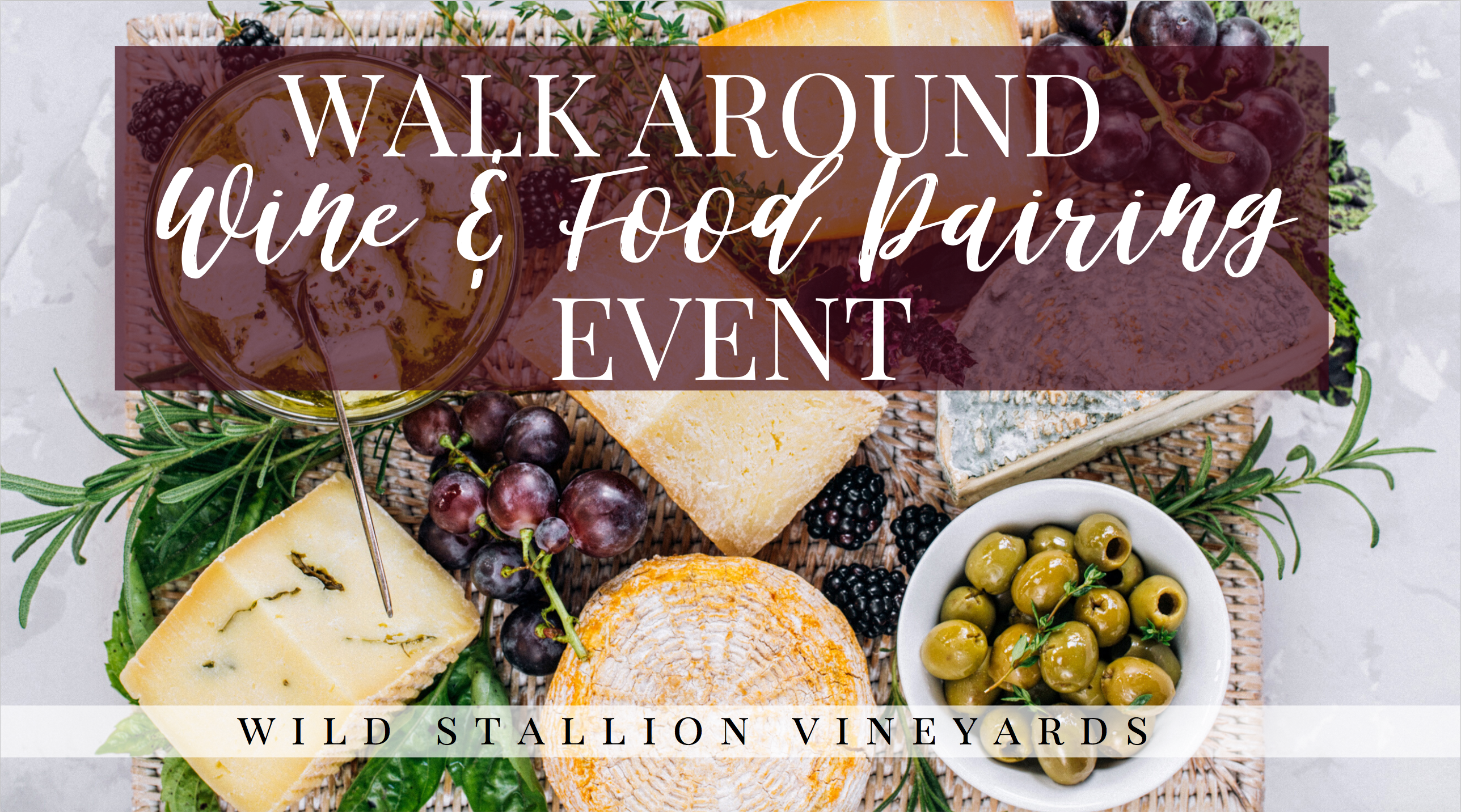 Walk Around Wine Pairing Event
