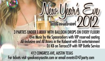 Speakeasy's Legendary New Year's Eve Bash