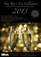 2013 NYE at Caffe Roma Beverly Hills