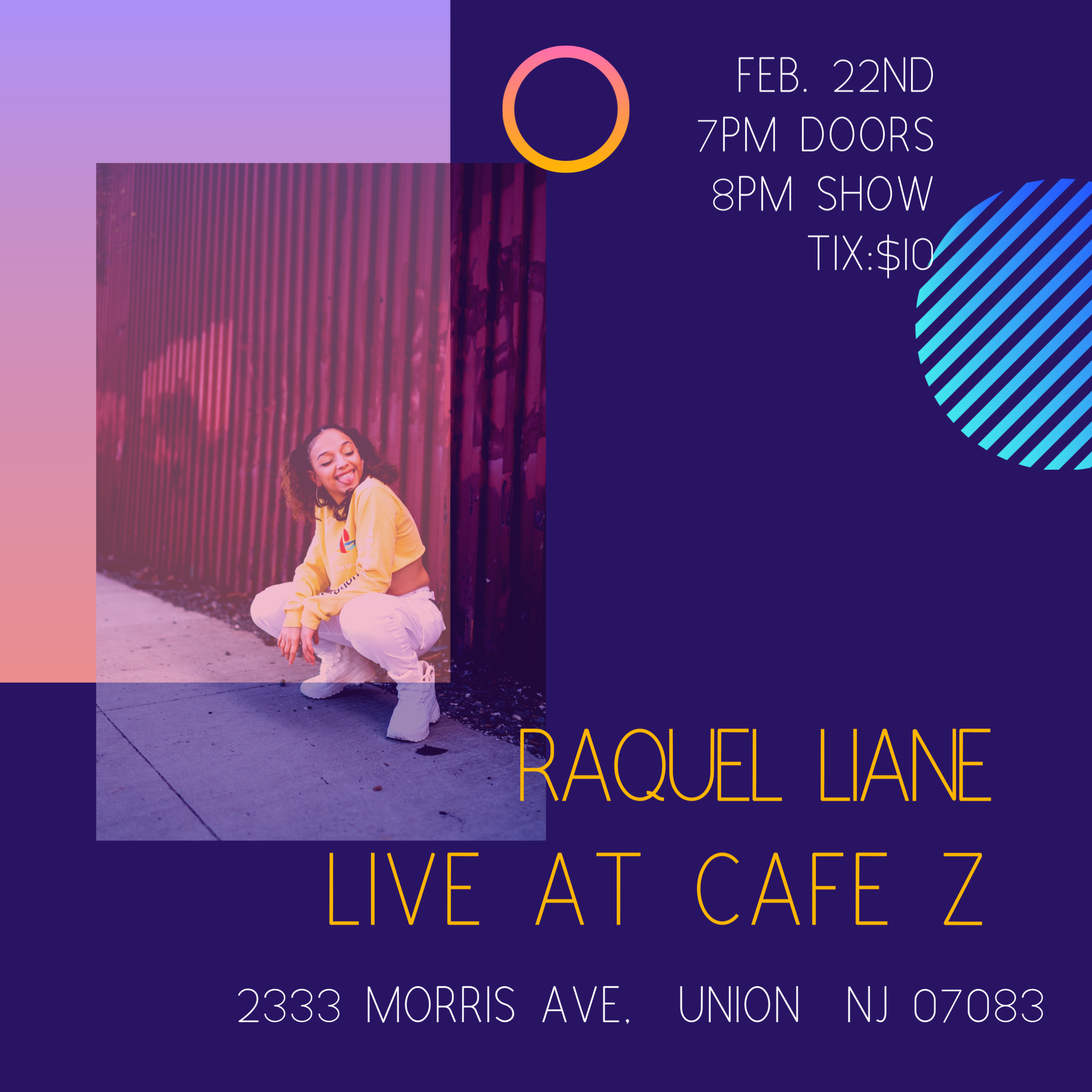 Raquel Liane Live at Cafe Z