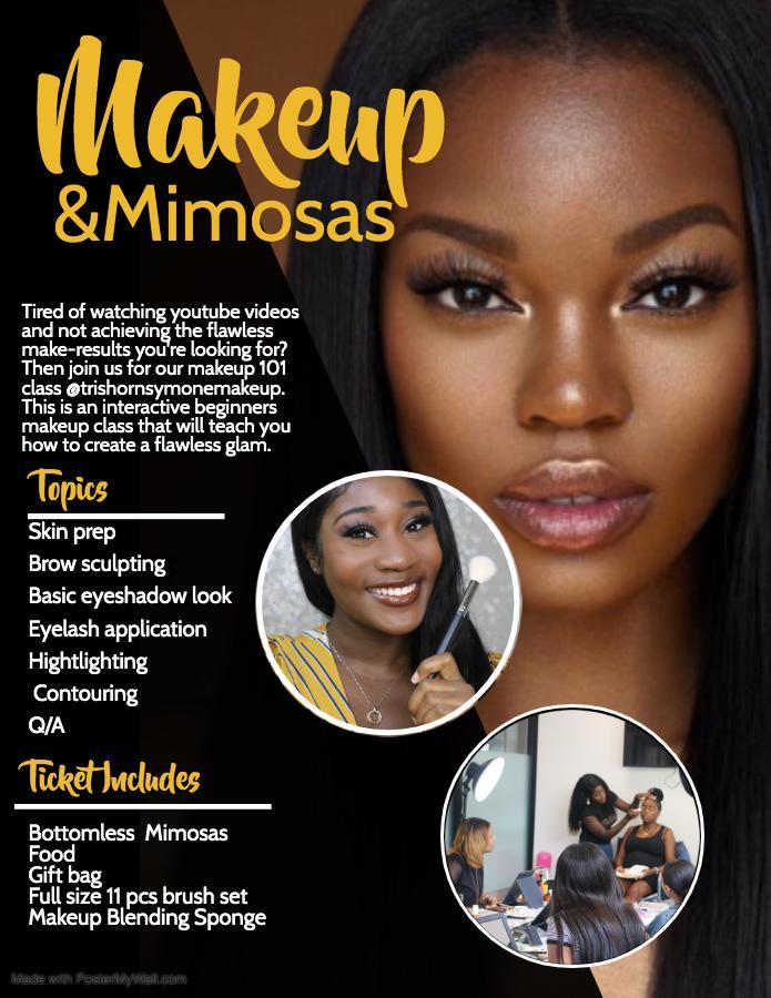 Makeup Mimosas 21 Mar 2020