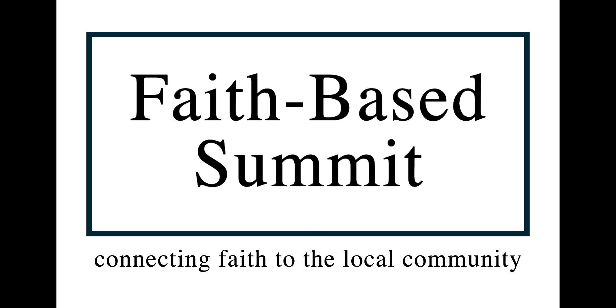 Faith-Based Summit