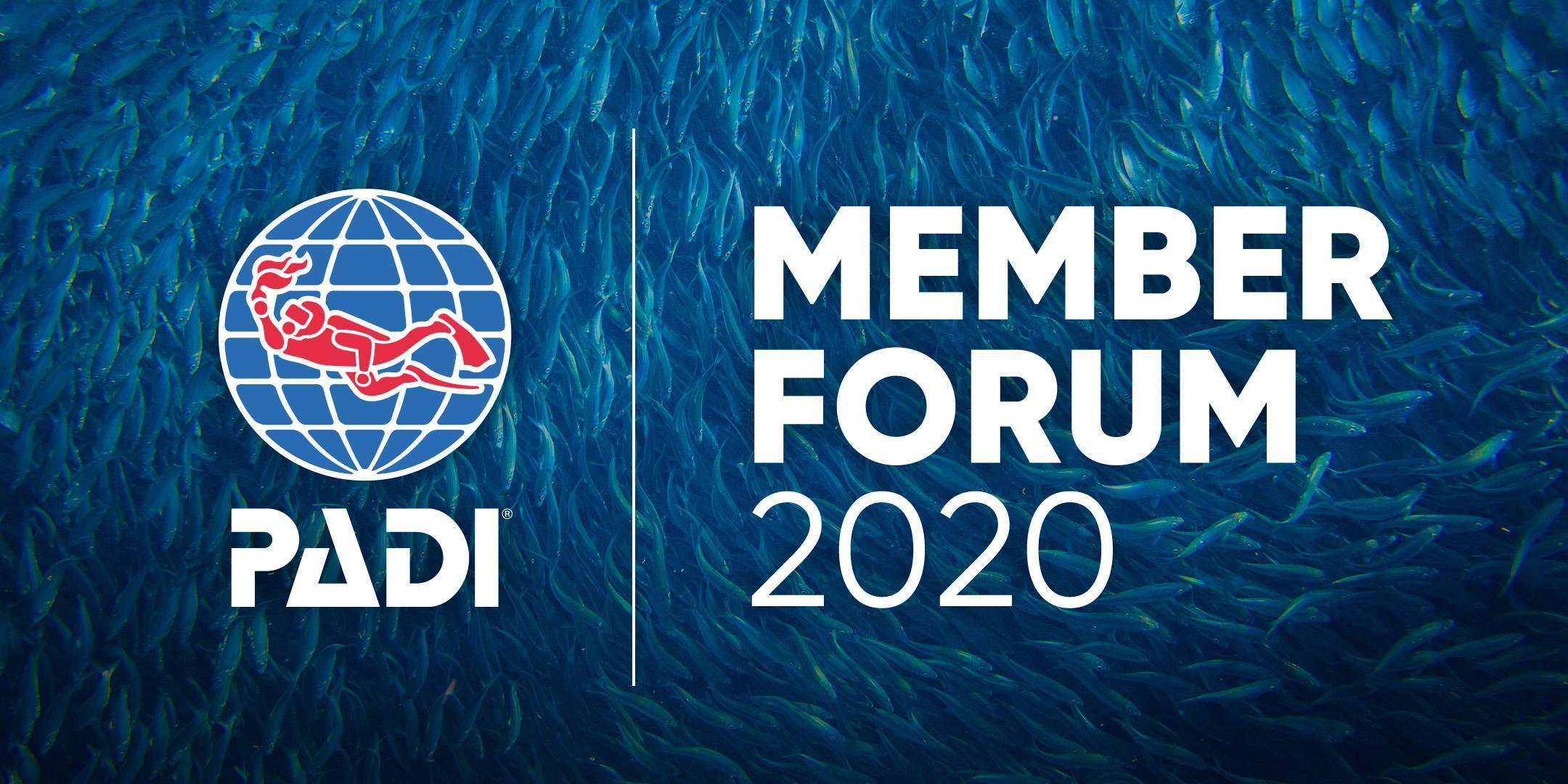 2020 PADI Member Forum Hamburg, Deutschland