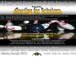 3rd Annual Bowling for Scholars Donation Website
