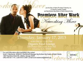 Premiere After Work Networking Mixer