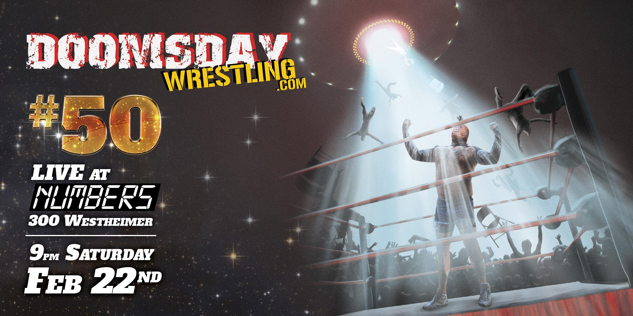 DOOMSDAY WRESTLING 50: A Threat From Beyond the S