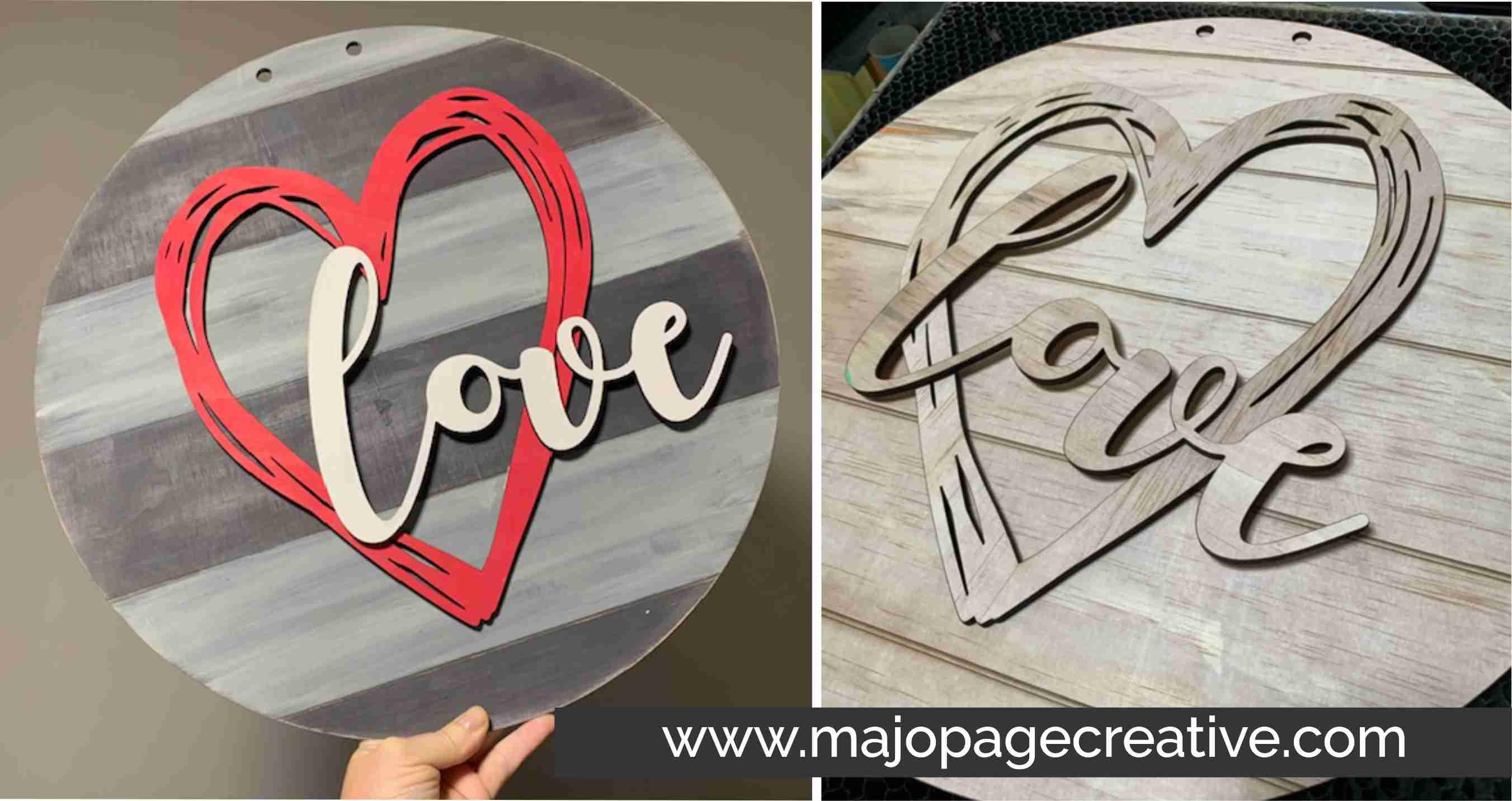 DIY Workshop - 18 Layered Wooden Sign - Choice of designs/colours