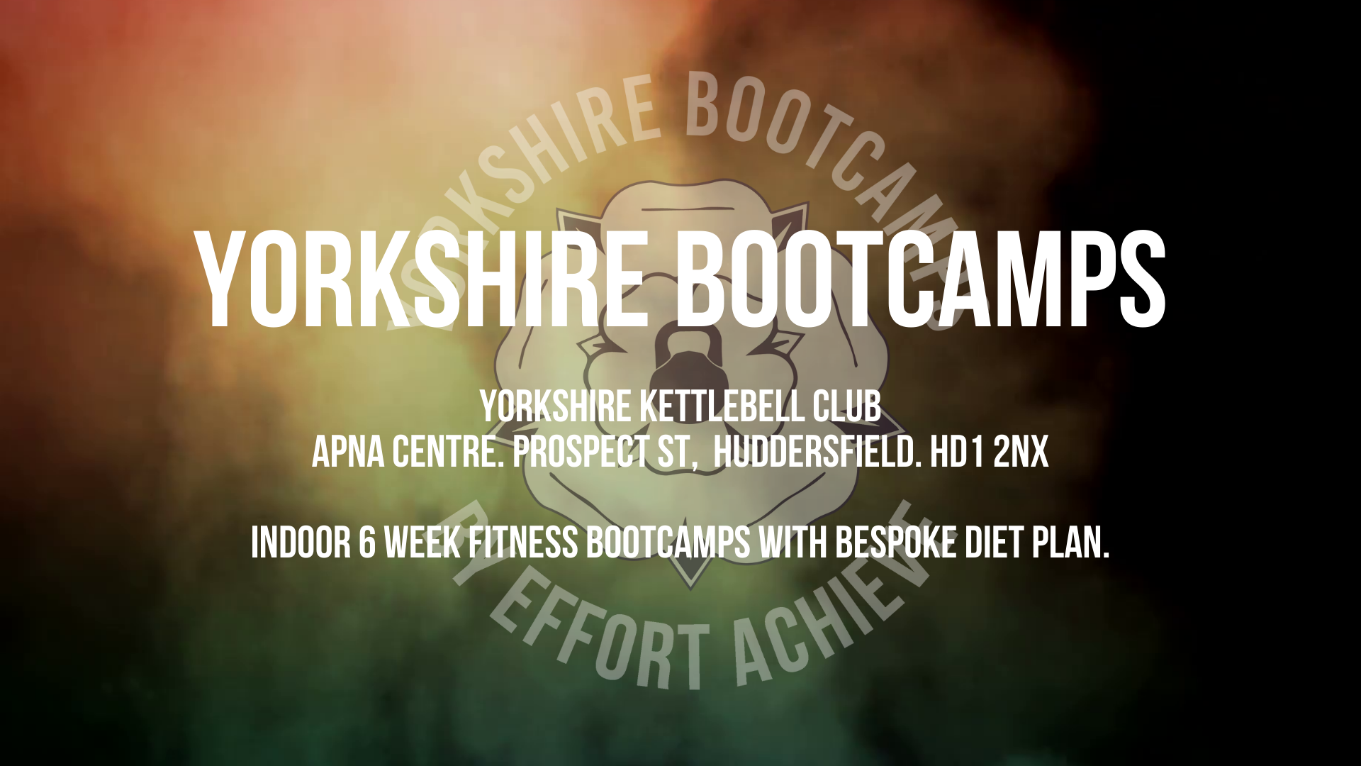 Yorkshire Bootcamps - Evenings
