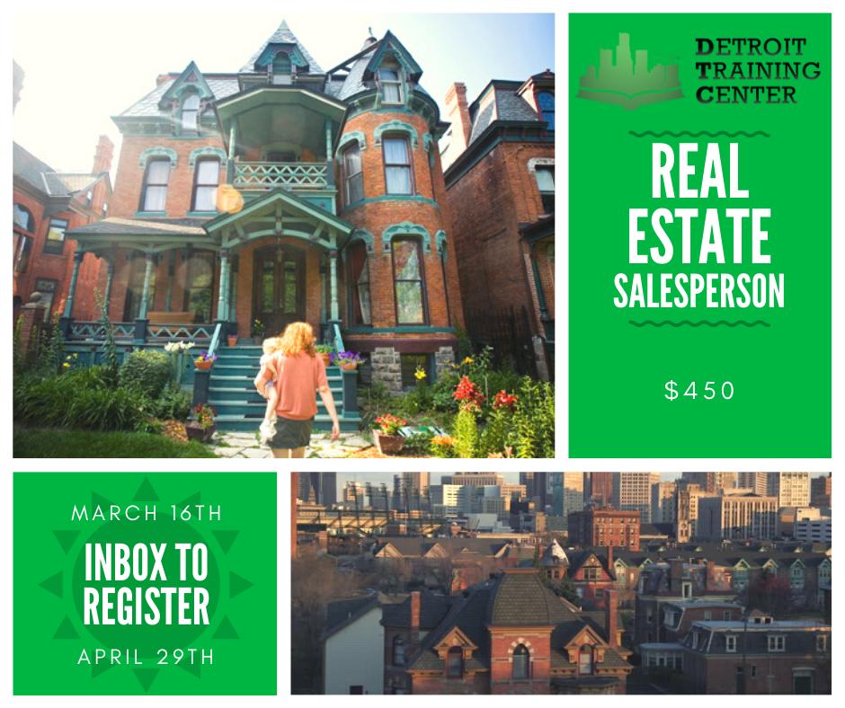 Real Estate: Real Estate Salesperson Course