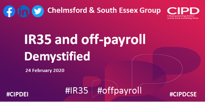 IR35 and off-payroll demystified - Chelmsford and...