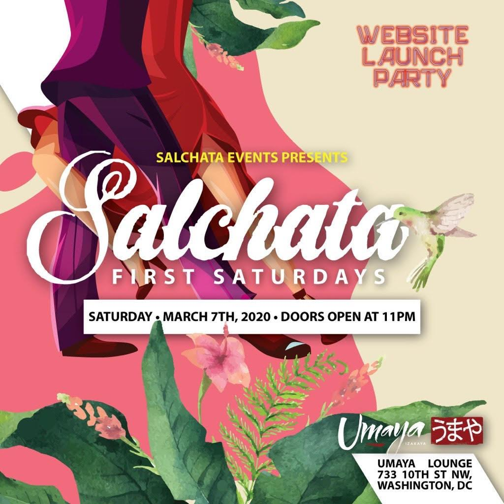 "SALCHATA EVENTS PRESENT ""FIRST SATURDAYS"" at UMAYA 