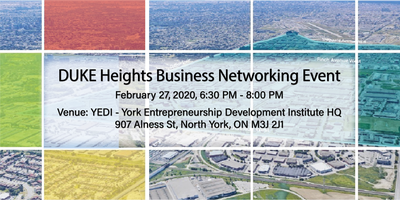 DUKE Heights Business Networking Event - February 27,...