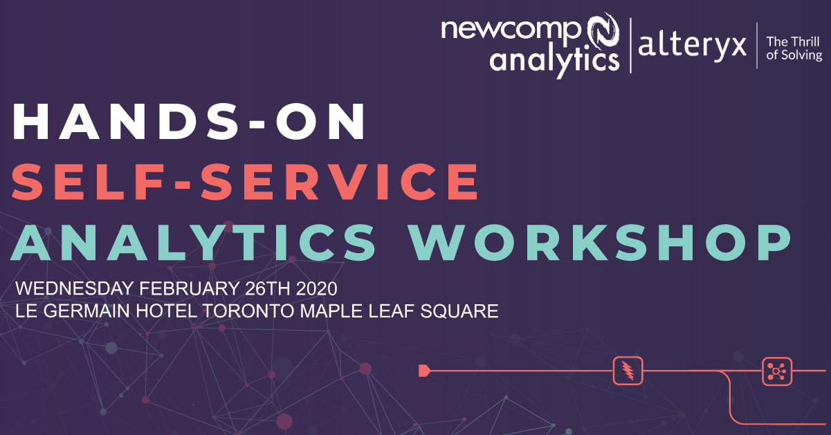 Hands-on Self Service Analytics Workshop: Your Guide to Modern Analytics with Alteryx
