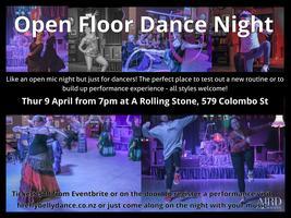 Open Floor Dance Night - April